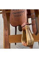 """Diamond K Trail Saddle 16.5"""" Full Quarter Bars"""