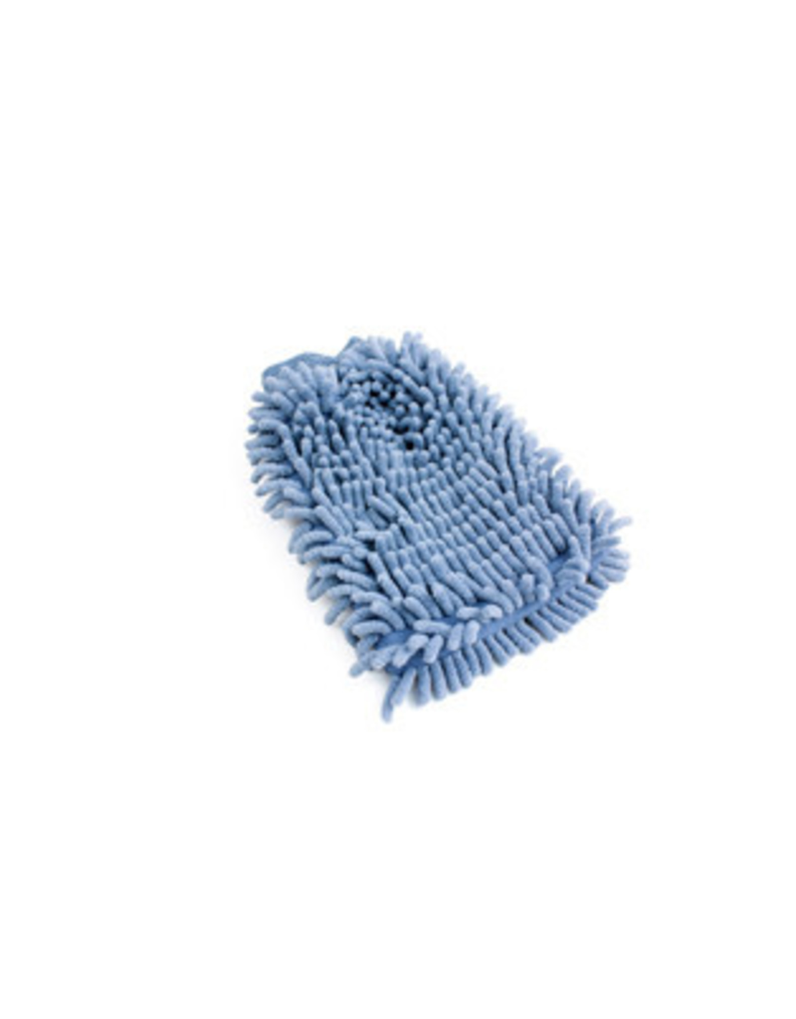Wash Mitt Microfiber Horseshoes Blue