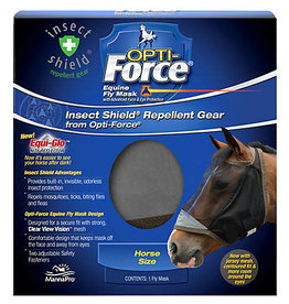 Manna Pro Fly Mask Opti-Force No Ears  with Insect Shield