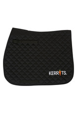 Kerrits All Purpose / Close Contact Saddle Pad Black Full