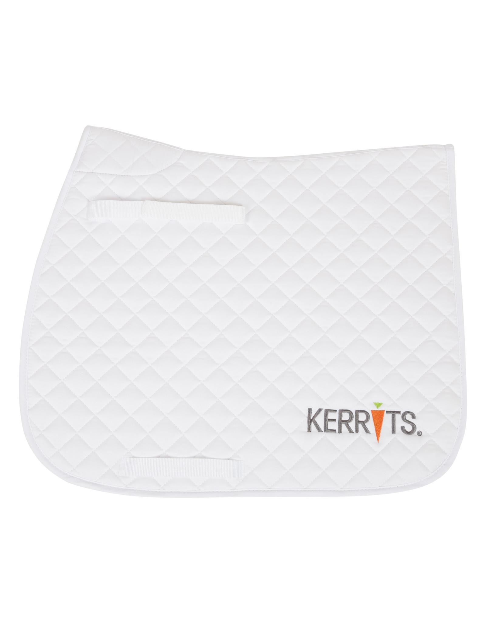Kerrits All Purpose / Close Contact Saddle Pad White Full