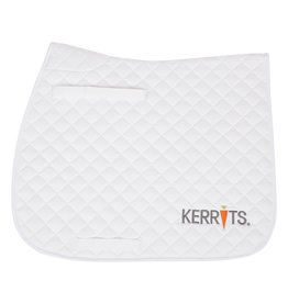 Kerrits All Purpose / Close Contact Saddle Pad White Full