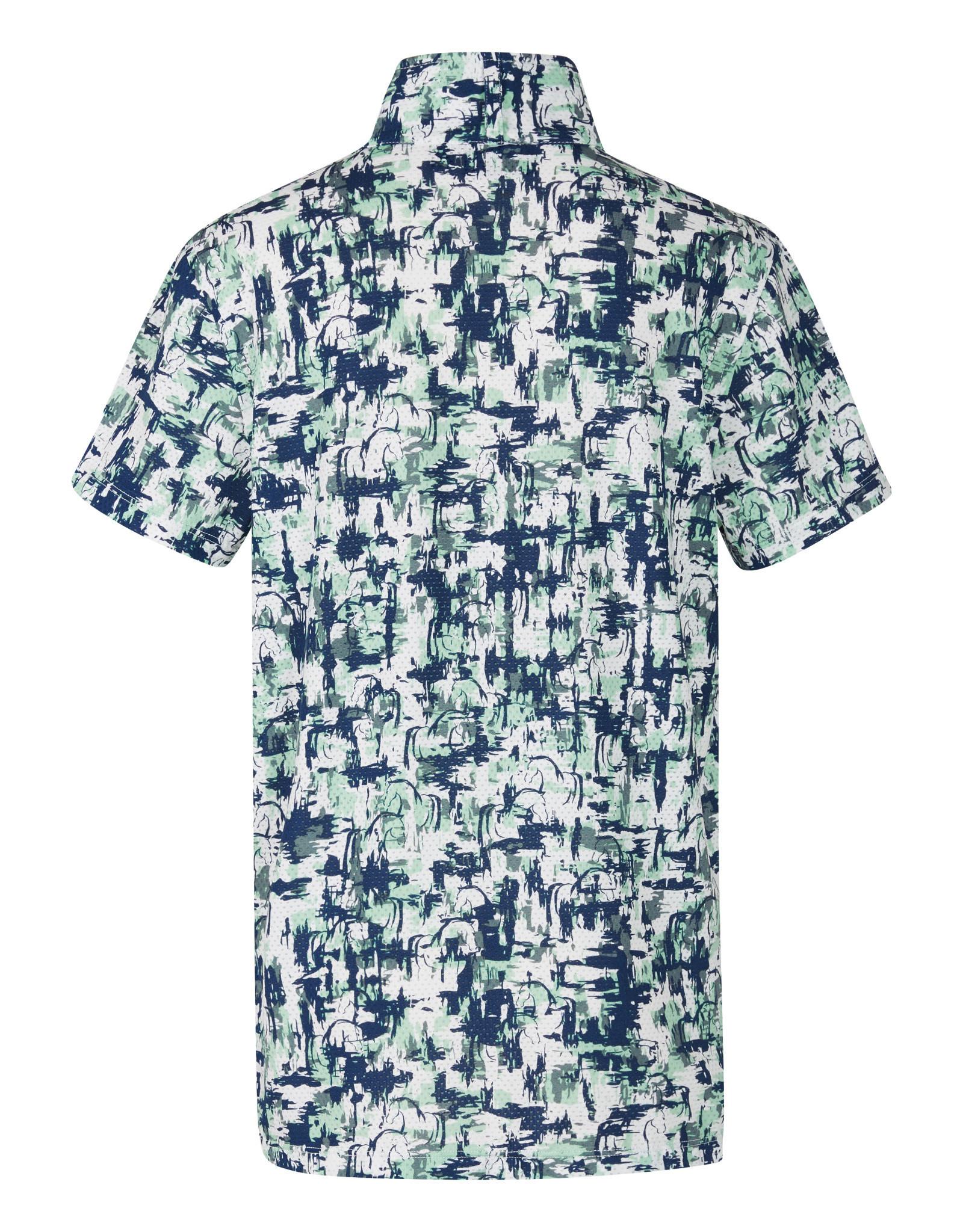 Kids Ice Fil Lite Short Sleeve Shirt Print