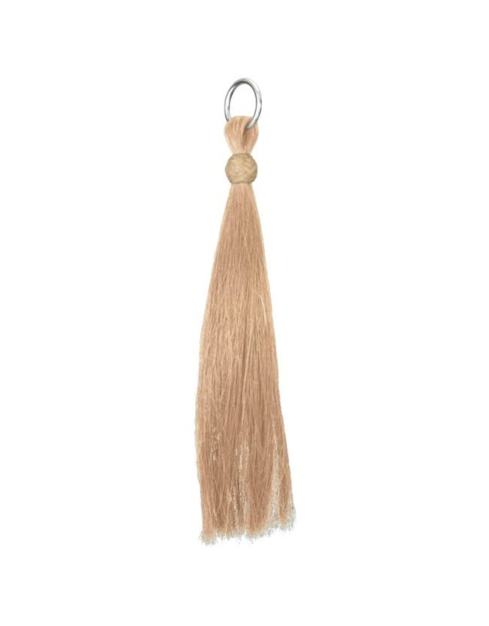 "Shoo Fly Horse Hair Tassel Tan 6"""