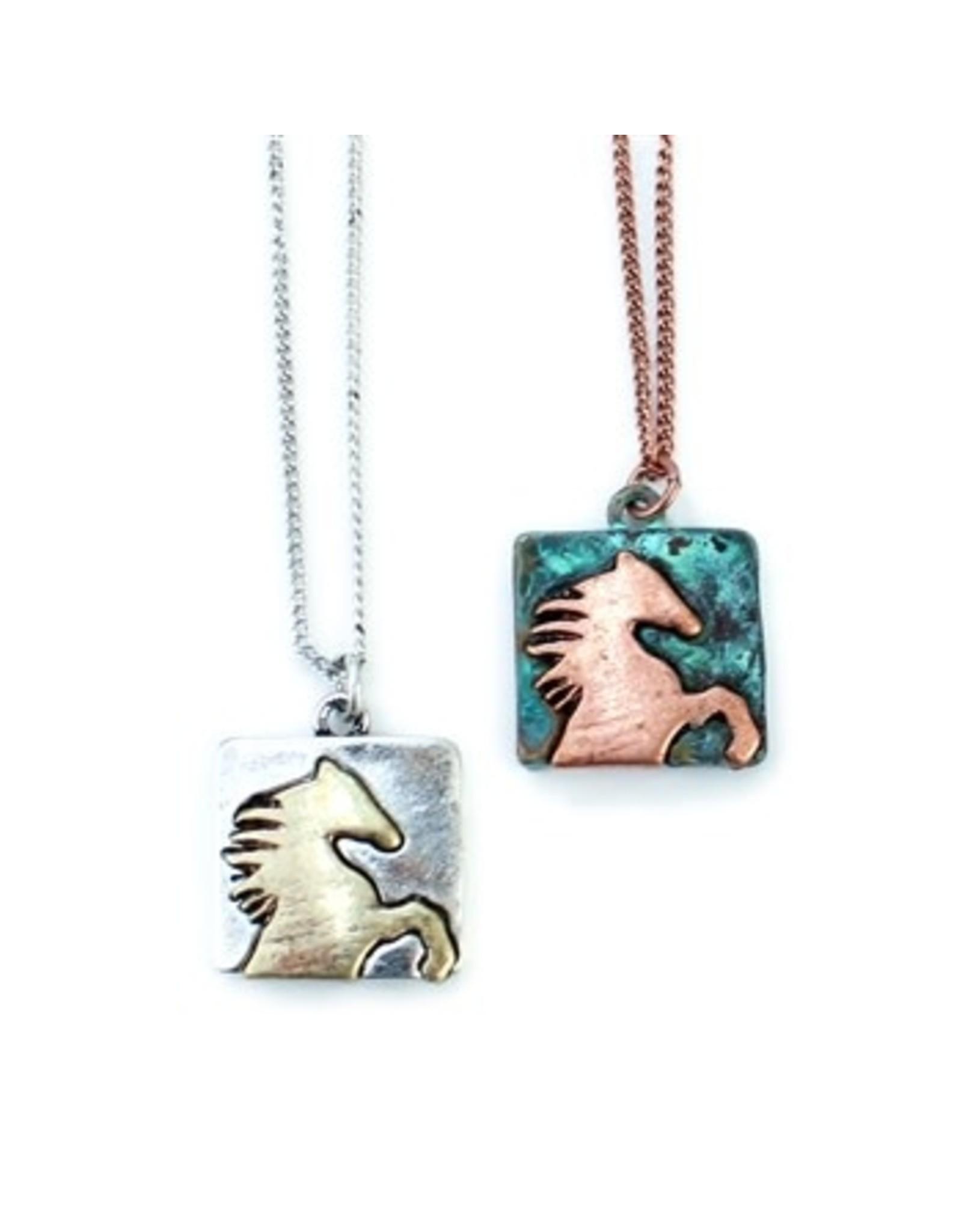 Necklace Wild Horse Silver