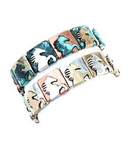 Bracelet Wild Horse Bracelet Patina
