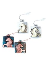 Earrings Wild Horse Earrings Silver