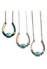 Necklace Artisan Horseshoe Gold