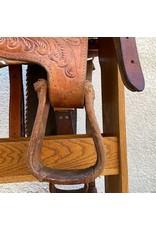 "San Antonio Three Bars Saddlery 16.5"" SQHB"