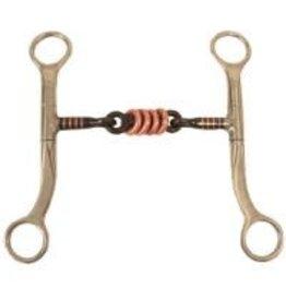 """Bit Western Sweet Iron 3-piece Training w/ Copper Rings 5"""""""