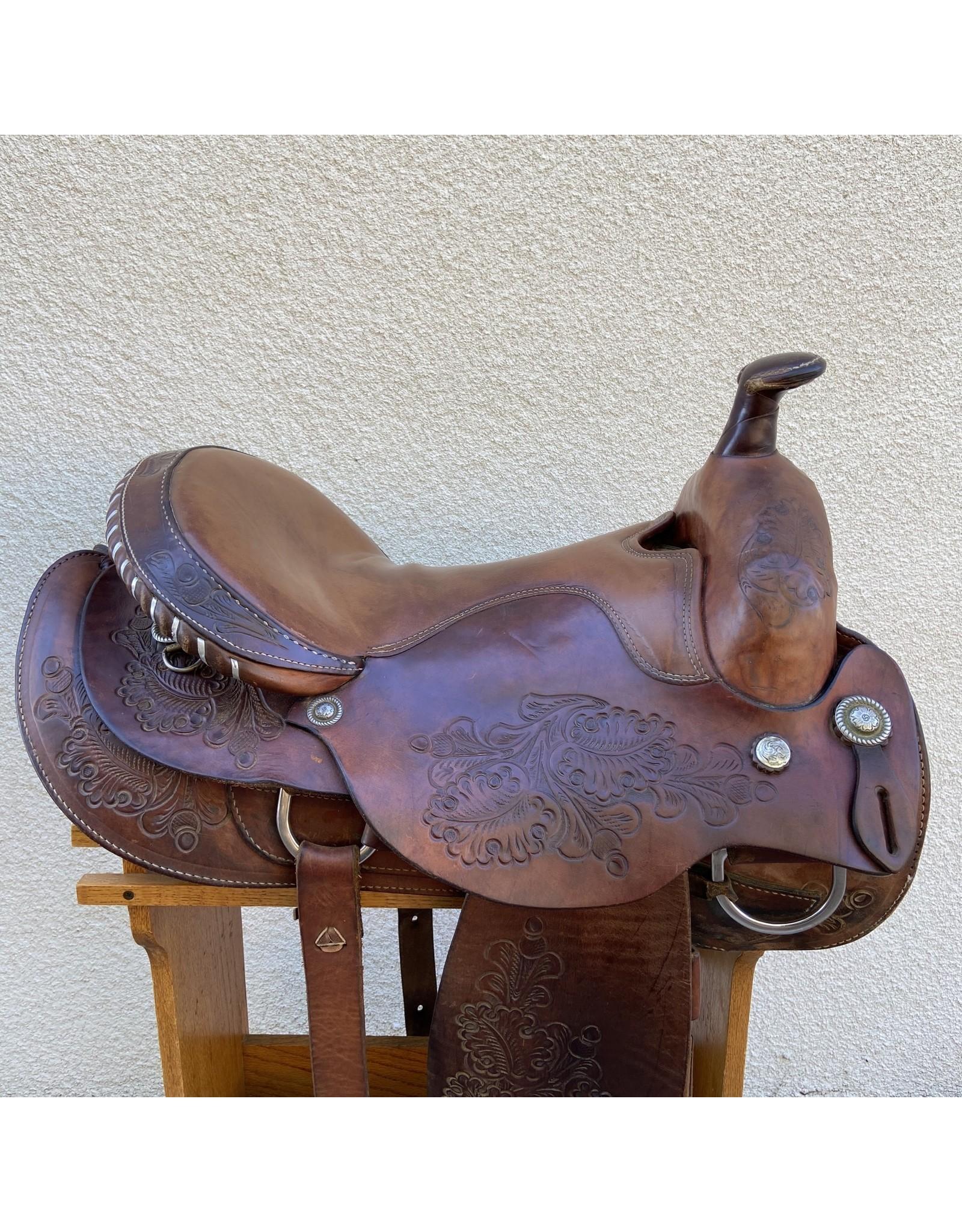 "*FOR DISPLAY ONLY* Ballard 18"" Western Saddle"