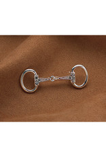 Silver Snaffle Bit Pin Small