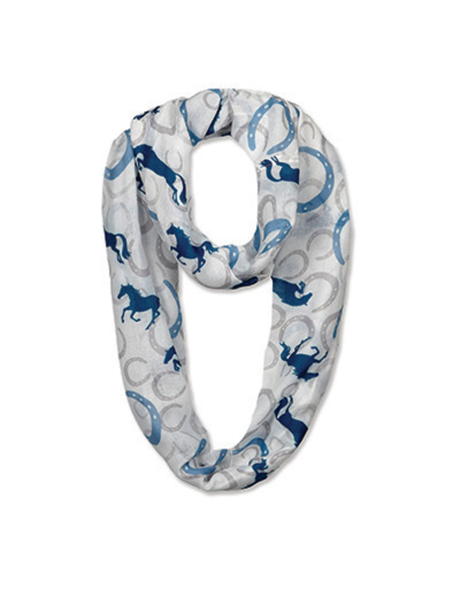 Scarf Infinity Horse Shoes & Horses