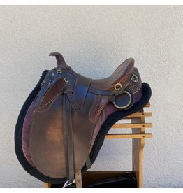 Australian Saddle Set with cinch, pad, breastcollar