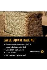 Texas Hay Bale Net Square Nylon Mesh