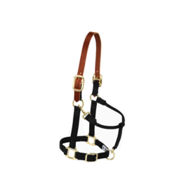 "Weaver Adjustable Breakaway Nylon Halter 1"" Weaver"