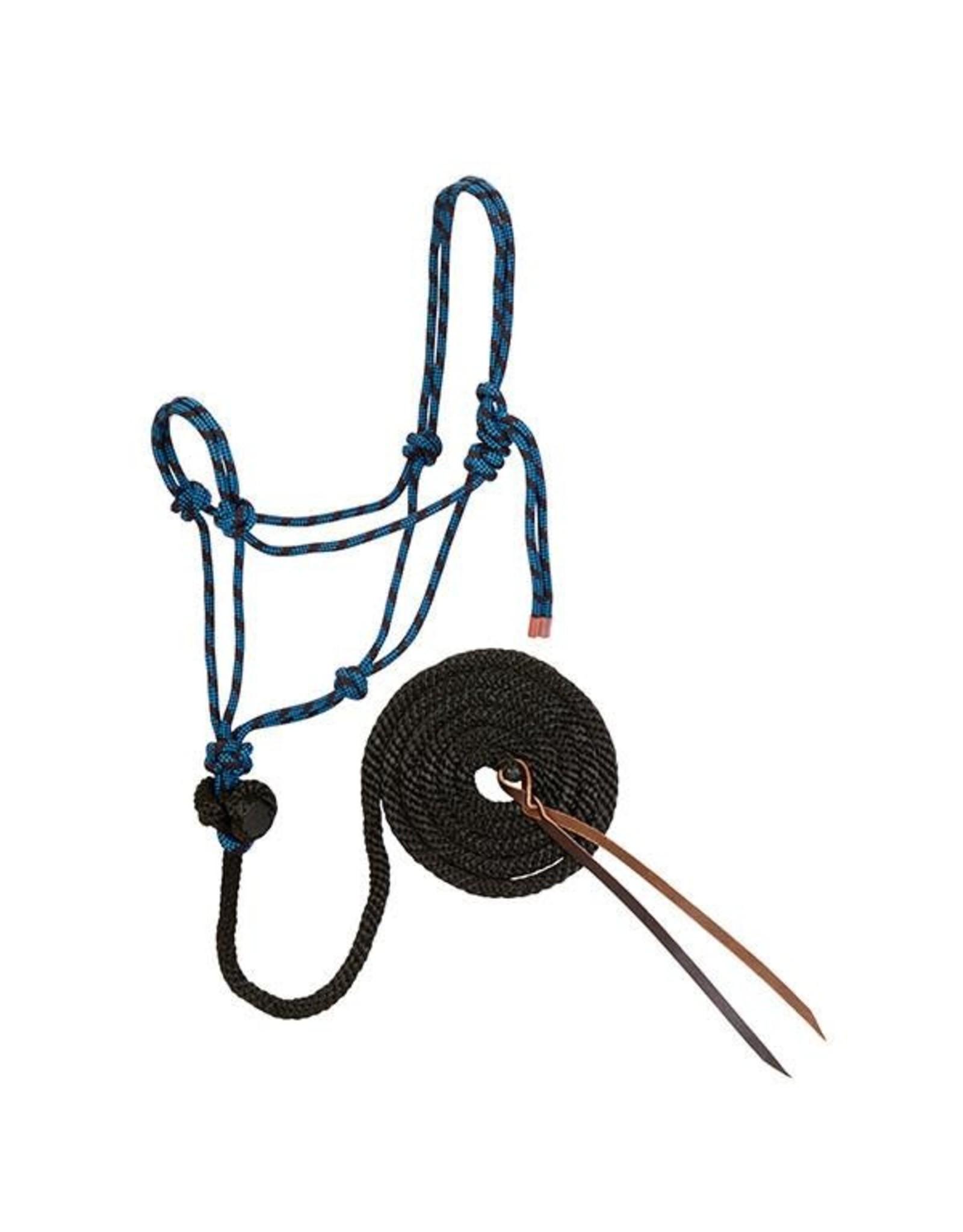 Weaver Diamond Braid Rope Halter and Lead
