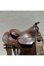 """Macpherson Western Saddle 15"""" FQHB"""