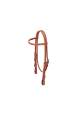 Quick Change Browband Headstall w/ Buckle Bit Ends