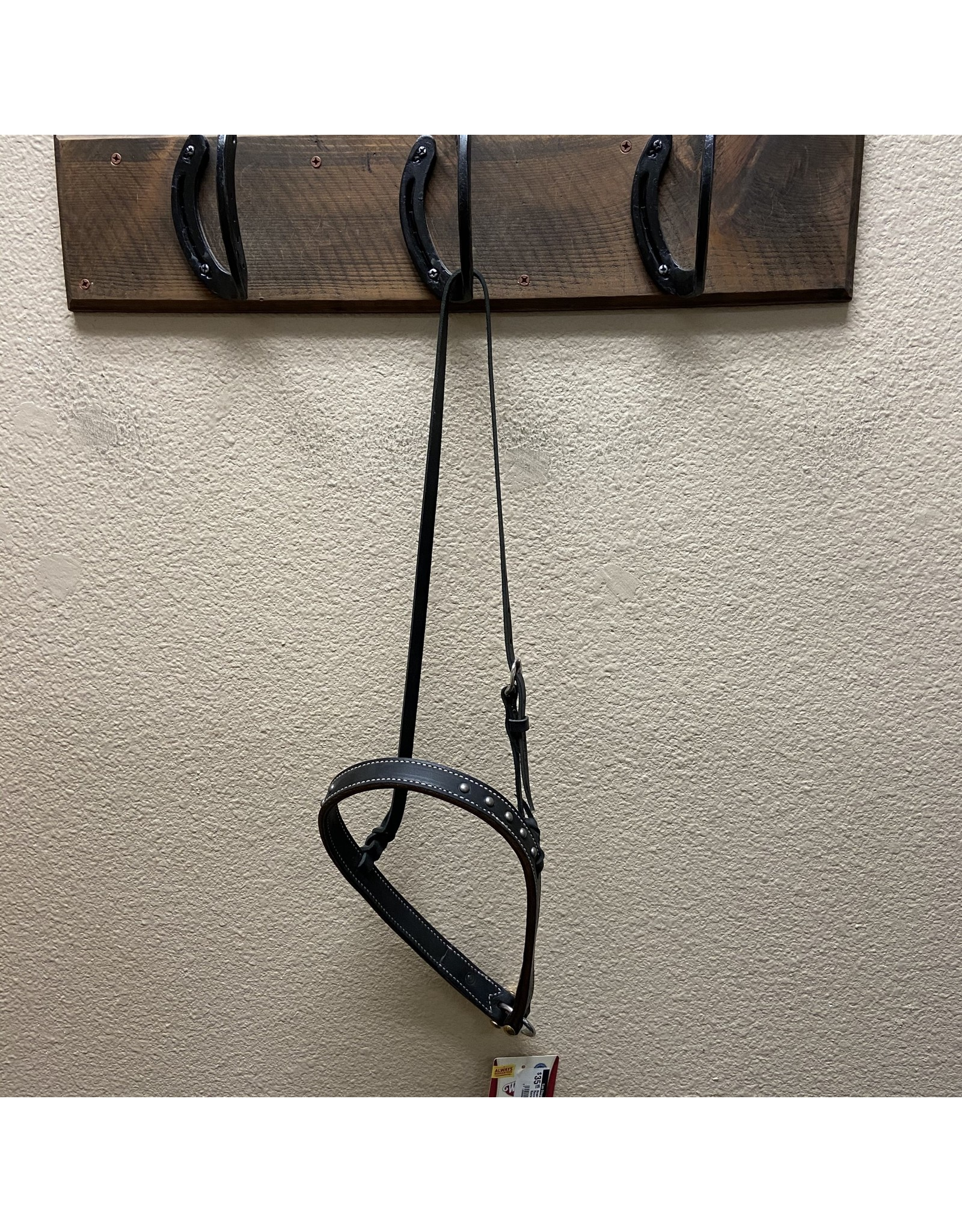Noseband with Pewter Spots