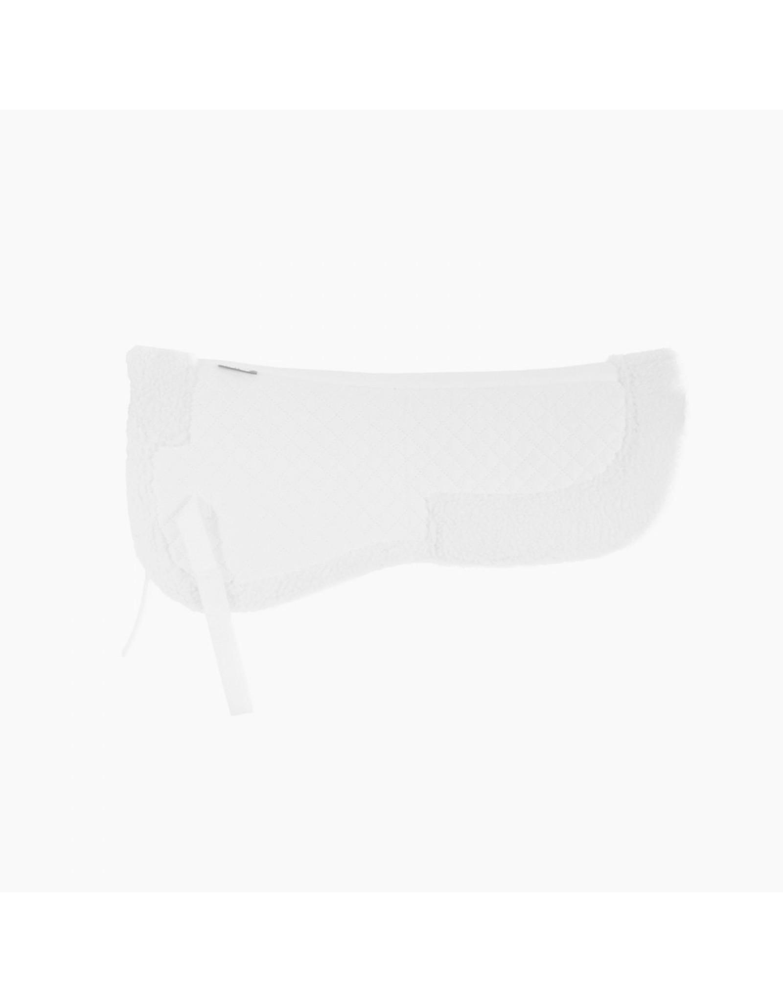 Horze Fur (Faux) Half Pad White Full
