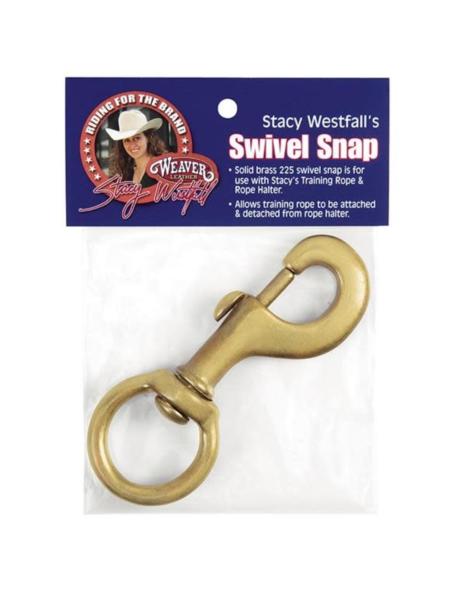 """Snap Swivel Brass 1 1/8"""" #225"""