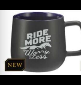 Mug, Ride More Worry Less 13 oz.