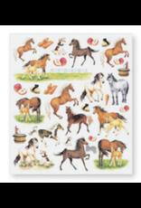 Stickers, Horses & Apples