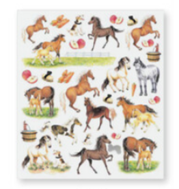 Stickers, Horses & Apples