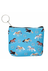 Puff Pony Coin Purse, Assorted