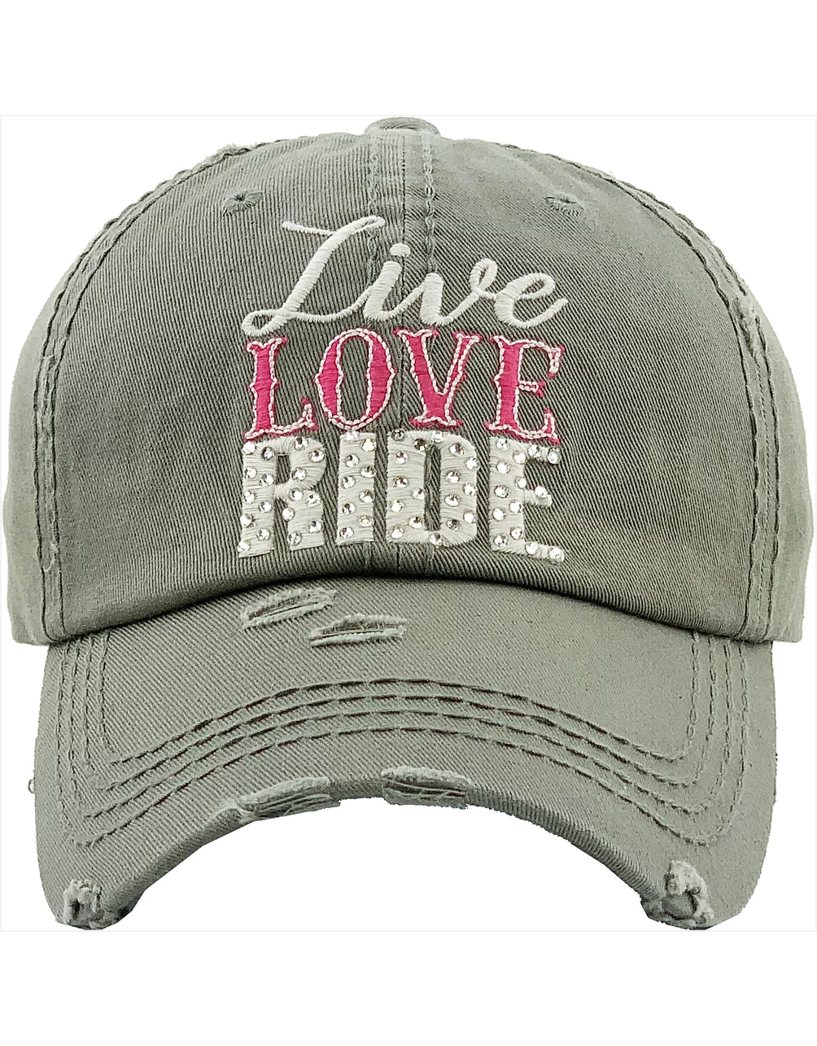 "Cap, ""Live, Love, Ride"""