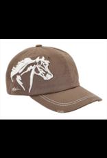 Cap, 3D Horse Head, distressed