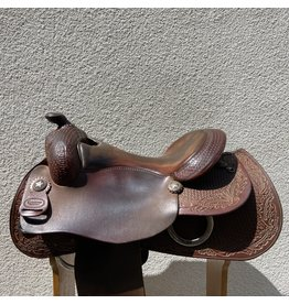 "Reinsman Reining Saddle 16.5"" Full Quarter Horse Bars"