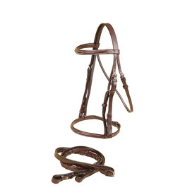 Tory Leather Bridle Gatsby