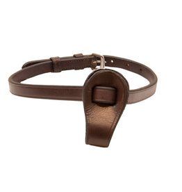 Brown Leather Flash Noseband