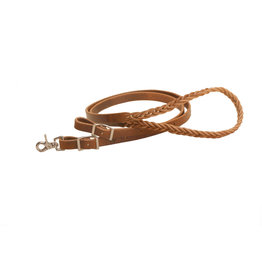 Reins Roping Harness Leather 3/4""