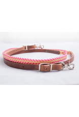 Wax Laced Roping Reins