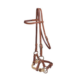 Side Pull Dbl Nose TOR Harness Horse