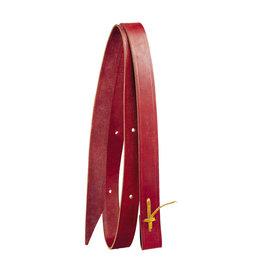 Weaver Tie Strap Latigo Burgundy