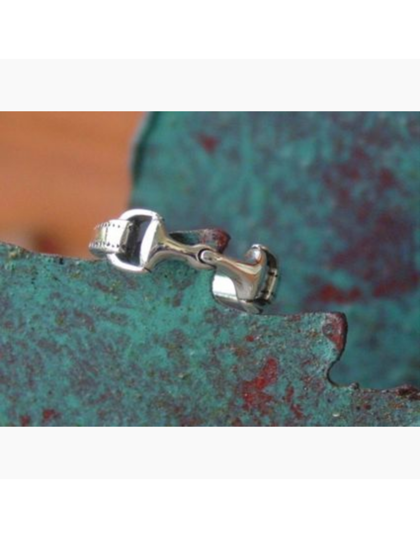 Baron Equestrian Ring Sterling Silver Snaffle Baron R300