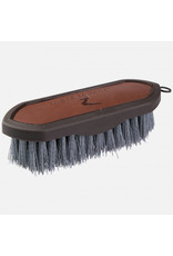 Horze Brush Maddox Vegan Leather Handle Dandy
