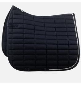 Horze Caesar Dressage Saddle Pad Dark Blue