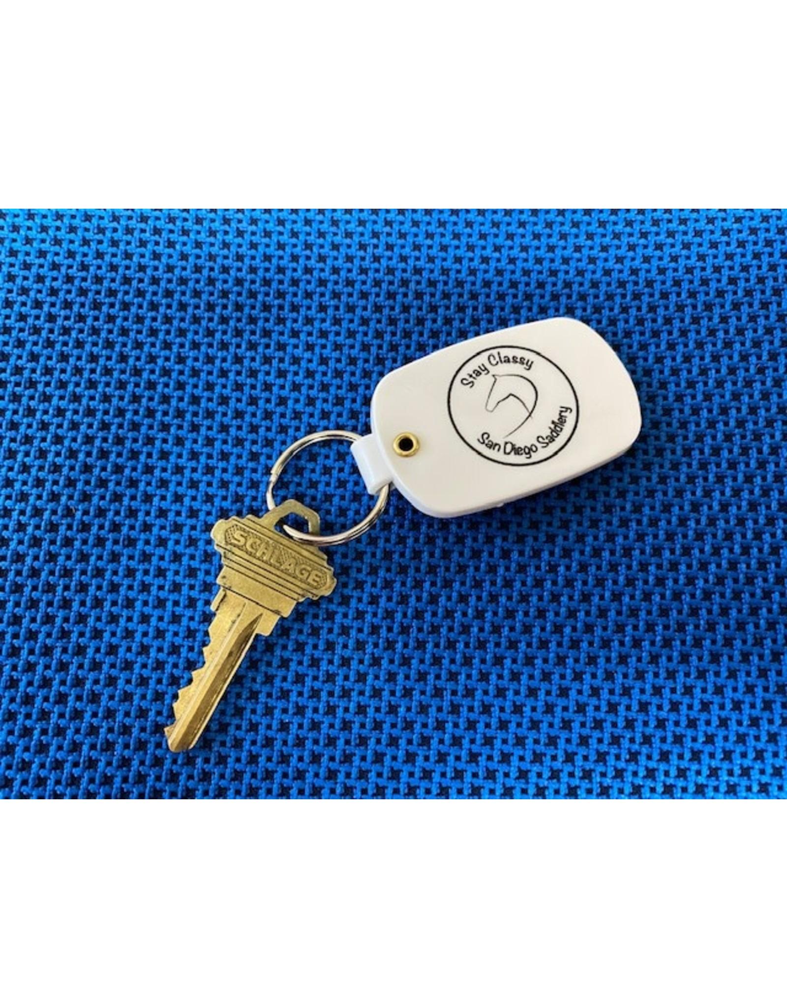 San Diego Saddlery Keychain