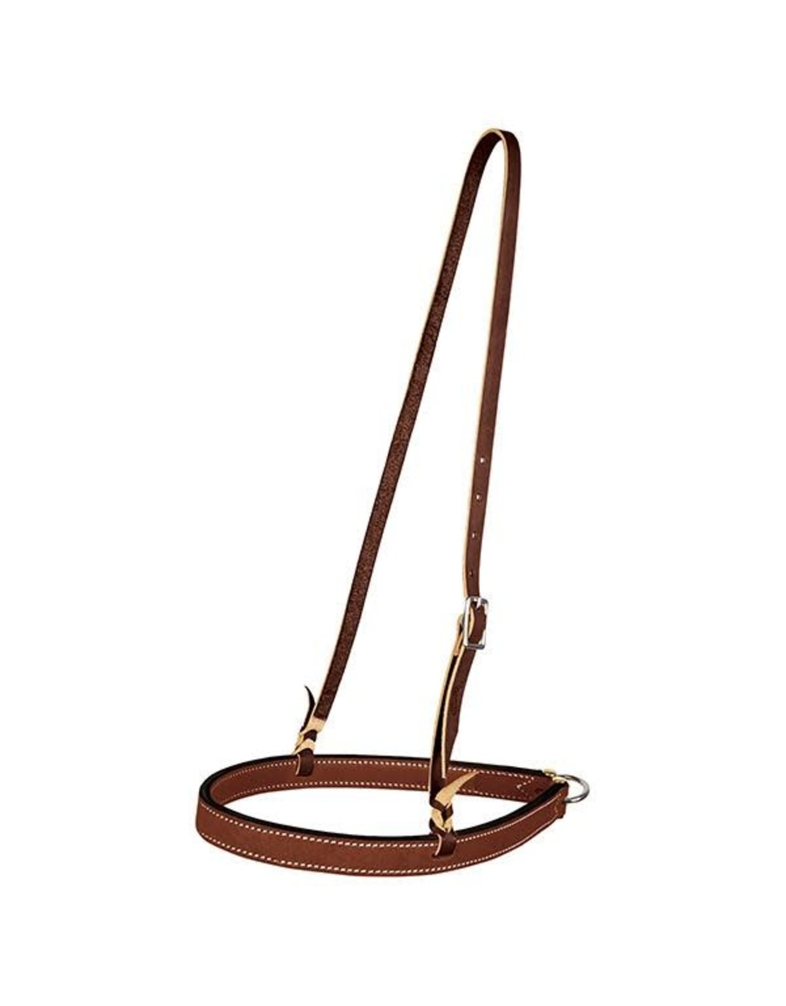 Weaver Noseband Bridle Leather w/ Ring