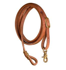 "Reins, Leather INT Roping Harness Hermann Oak 5/8"""