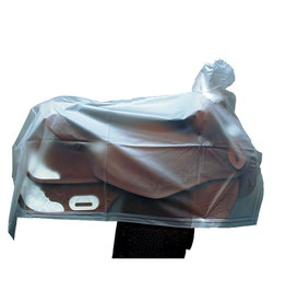 Saddle Cover Western Vinyl Clear