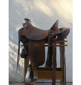 "Lennis Arave Wade Seat Full Quarter Horse Bars 17"""