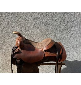"Tex Tan Roper 15-15.5"" Seat with a 6.5"" Gullet SQHB"
