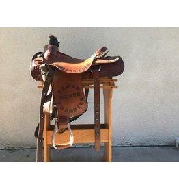 """Corriente Rope Saddle 15.5"""" FQHB"""