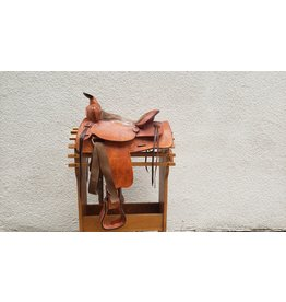 "American Saddlery Western Saddle 13"" Seat FQHB"